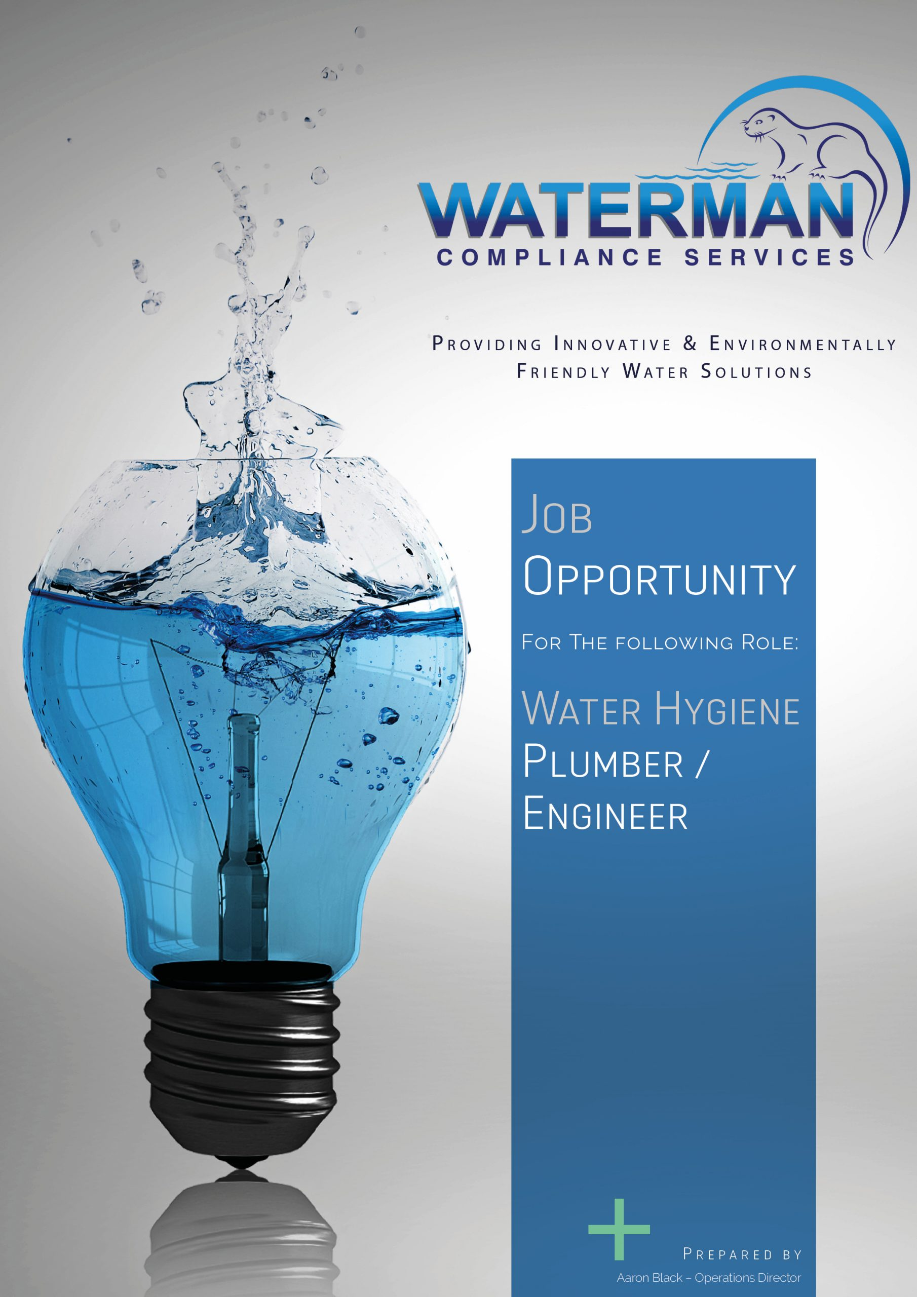 20200522 - Waterman Compliance Services Job Post - Water Hygiene Plumber Engineer
